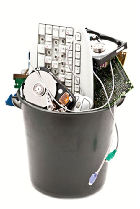 electronics recycling options  small businesses town