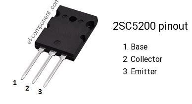 c5200 transistor equivalent 2sc5200 n p n transistor complementary pnp replacement pinout pin configuration substitute