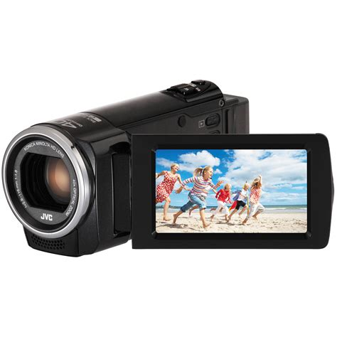 jvc everio jvc gz hm45bus hd everio camcorder gz hm45bus b h photo