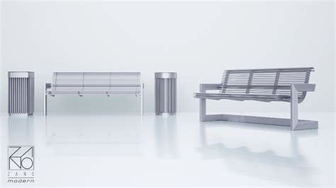 stainless steel park benches aura bench 02 023 1 to the sopping centre zano street furniture