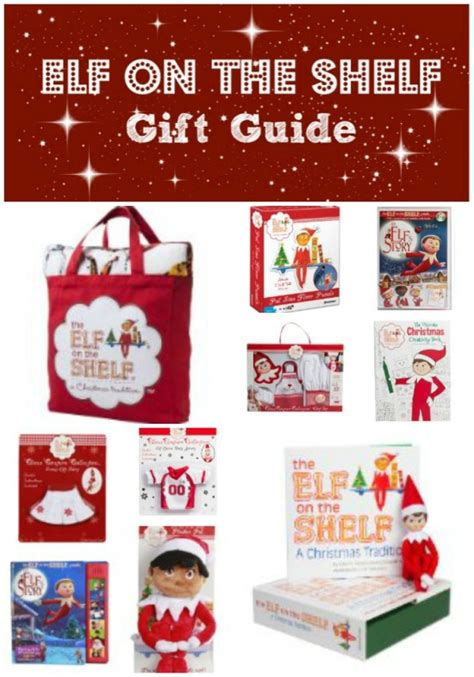 10 elf on the shelf themed gift ideas for the kid in
