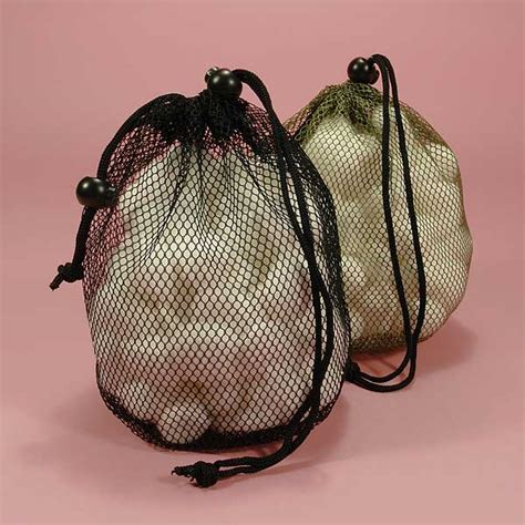 net shower bag w loops