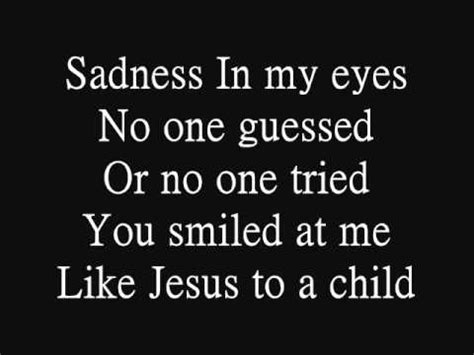 testo careless whisper george michael jesus to a child with lyrics clean hq