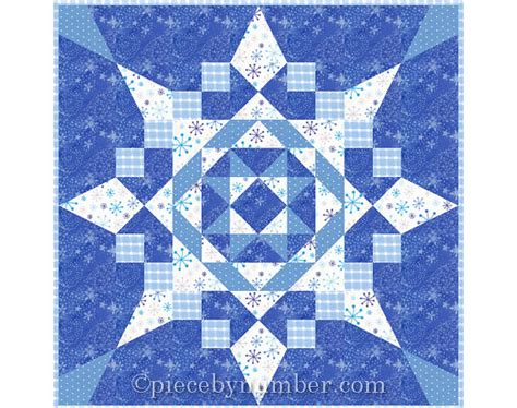 seven easy pieces quilt pattern instant by piecebynumberquilts