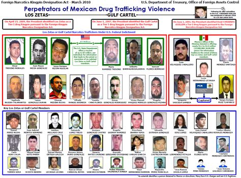 gulf cartel los zetas and gulf cartel perpetrators organizational