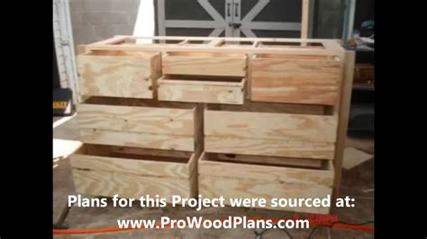Wood Plans For Dresser