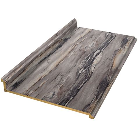 Lowes Laminate Countertop In Stock by Shop Vti Laminate Countertops Formica 8 Ft Dolce Vita