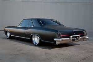Custom Buick Riviera Fesler Built 1963 Buick Riviera Custom Rod Matte Black Ls1