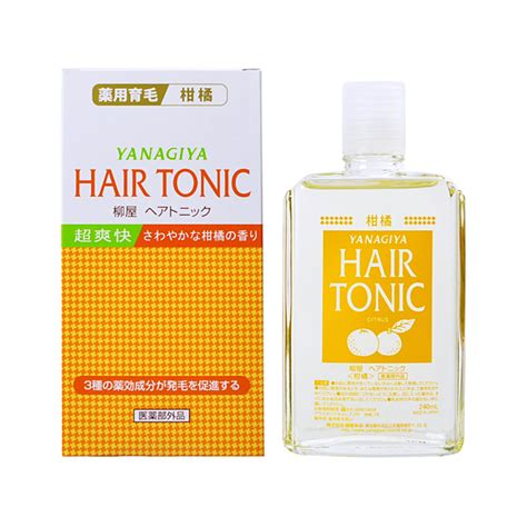 Kara Detox Scalp Tonic by Yanagiya Hair Tonic Citrus 240ml Shoo Treatment