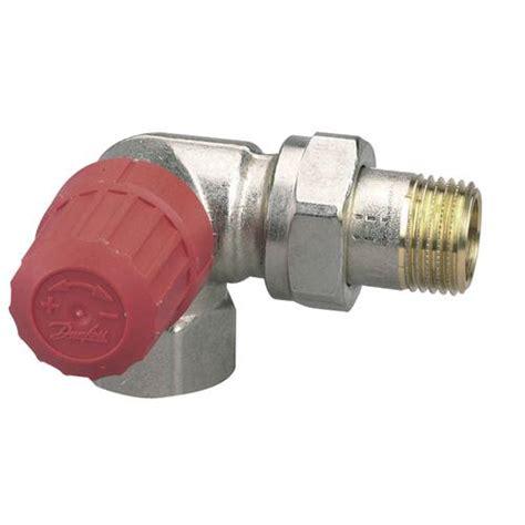 robinet radiateur danfoss corps de robinet danfoss angle a gauche ra n 8068 12