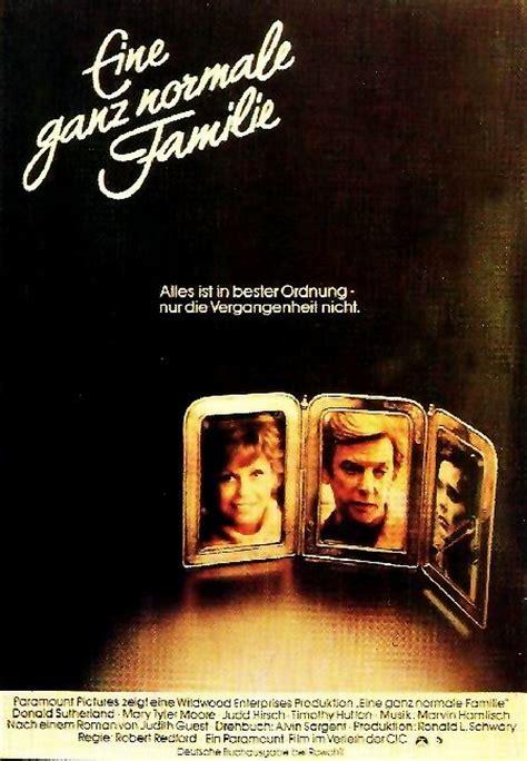 film ganz filmplakat ganz normale familie eine 1980 filmposter