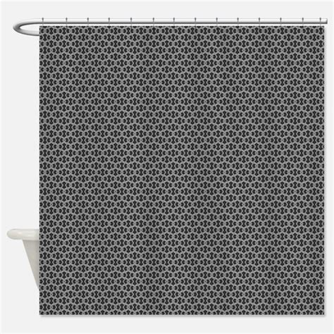 charcoal shower curtains charcoal fabric shower curtain