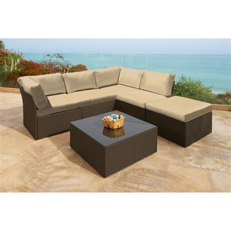 6 sectional set forever patio furniture