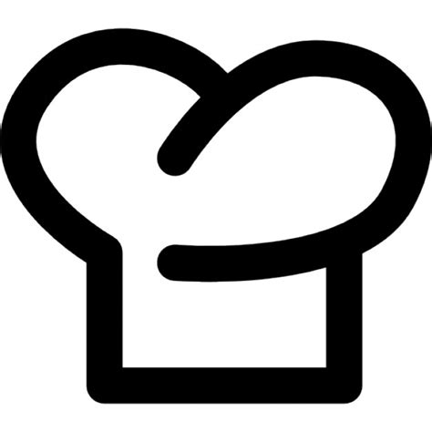 cook hat chef hat outline symbol icons free download