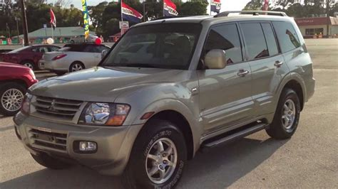 mitsubishi montero sport 2002 2002 mitsubishi montero sport limited 4x4 view our