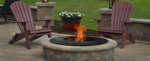 outdoor wood pit penn outdoor fireplaces pits