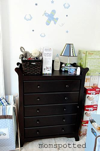 5 aspen cherry drawer dresser storkcraft drawers