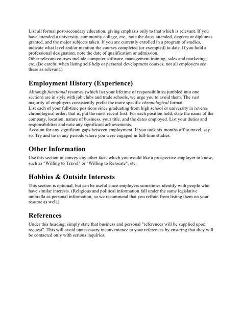 Resume Preparation by Resume Preparation Tips