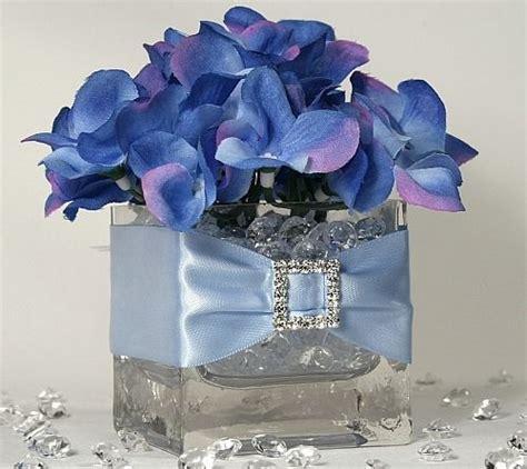 blue centerpieces shower centerpieces weddings style and decor wedding