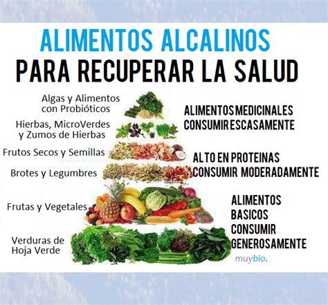 lista de alimentos alcalinos  llevar una dieta alcalina  sus beneficios dietaalcalinanet