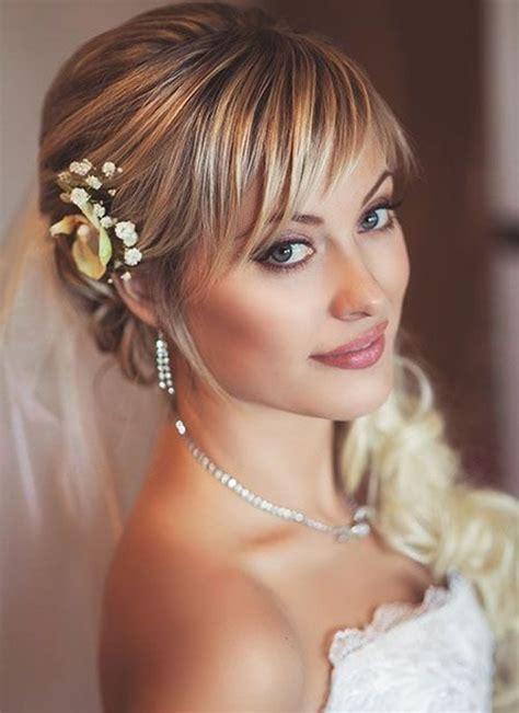 half up half wedding hairstyles 40 stylish ideas