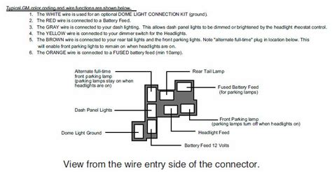 chevy headlight switch wiring diagram get free image