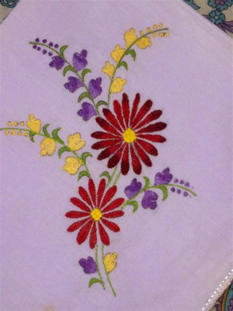 Handmade Embroidery - 100 embroidery carnation flower