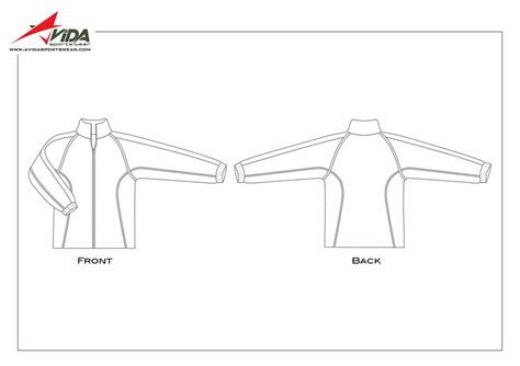 sports jacket template sport jacket template