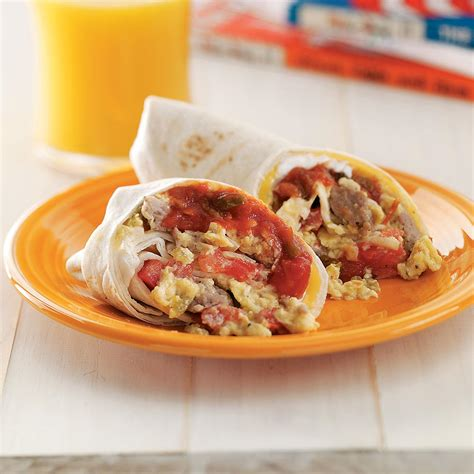 Todays Special Chicken And Goat Cheese Burritos by Breakfast Burritos With Sausage And Cheese Recipe Taste