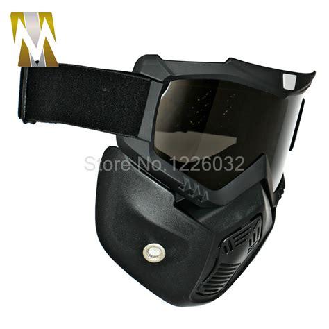 Snail Goggle Mask Mx 20 Silver motorcycle mask goggles detachable glasses mask visor ski snowboard motocross oculos gafas for