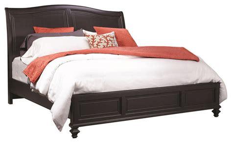 black sleigh bed queen aspenhome ravenwood queen sleigh bed antique black