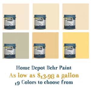 home depot paint prices home depot behr gallon of paint as low as 13 98 reg 33