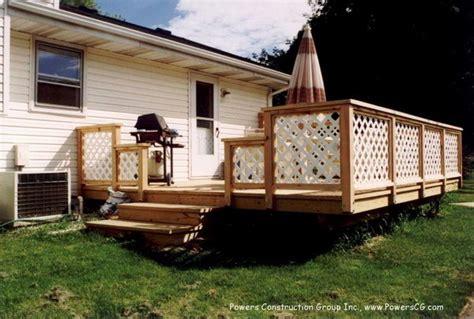 Deck Railing Designs With Lattice - 20 creative deck railing ideas for inspiration hative