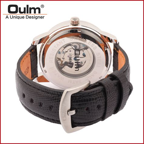 Oulm Jam Tangan Analog Hp3682 Termurah 2 oulm jam tangan analog hp3682 black gold jakartanotebook