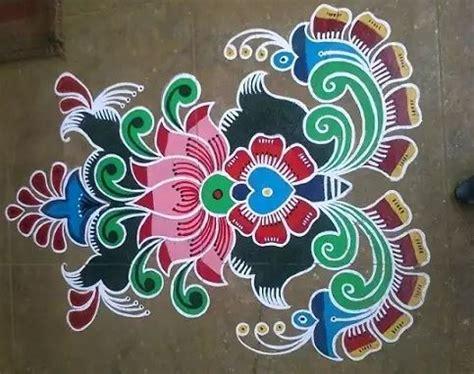 Decoration Themes For Ganesh Festival At Home by Happy New Year Rangoli Kolam Design 2017