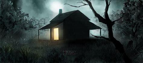 cabin on