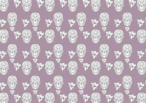 skull pattern wallpaper tumblr second sugar skull pattern by increasethemeds on deviantart