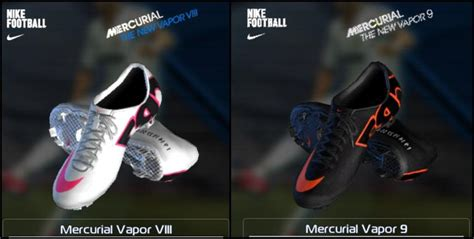 Sepatu Nike Playstation pes patch pes 2013 mercurial vapor 9 cr7 by lfcmas