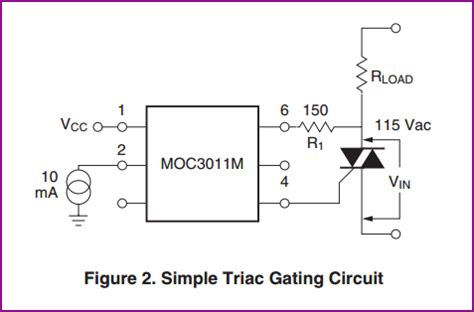 calculate resistor for optocoupler opto isolator optotriac triac how do i calculate the gate resistor electrical engineering