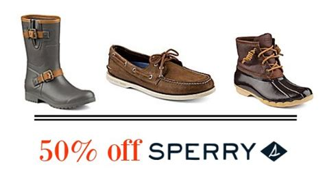 boat shoes black friday sale 50 off sperry boots apparel southern savers
