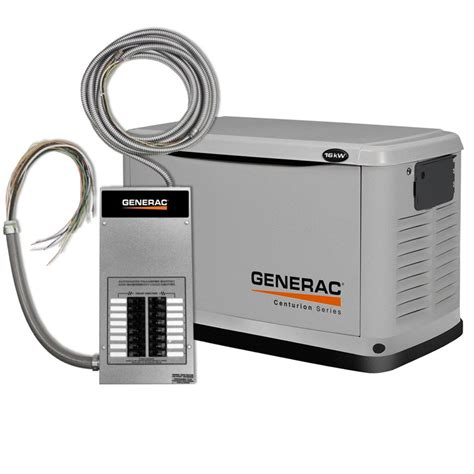 generac 6461 0 centurion series gas powered 16 000 watt