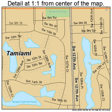 where is ta florida on a map tamiami florida map 1270700