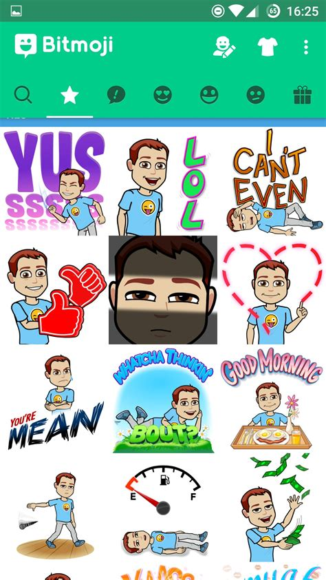 Sticker Whatsapp Erstellen Android by Bitmoji Android App Chip