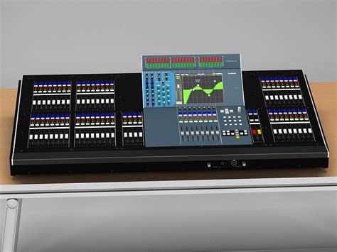 Audio Yamaha Digital Mixer yamaha m7cl 48 digital audio mixer 3d model sharecg
