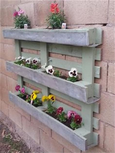 How To Make Wall Planters by Recycled Pallet Wood Planters Pallet Wood Projects
