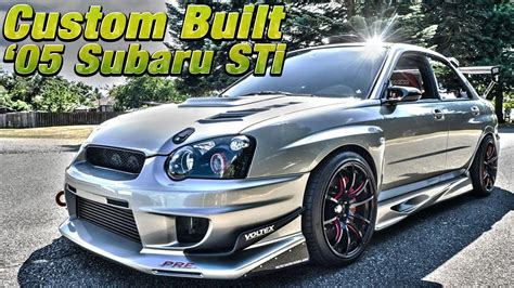 subaru wrx customized fully custom built 2005 subaru impreza wrx sti northwest