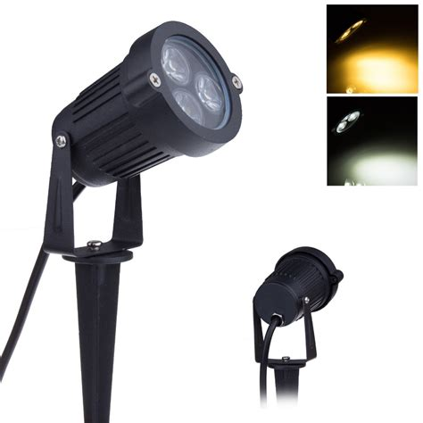 Outdoor Waterproof Lighting Aliexpress Buy 12v Led Garden Lights 3 3w Ip65 Waterproof Outdoor Spot Flood Lighting