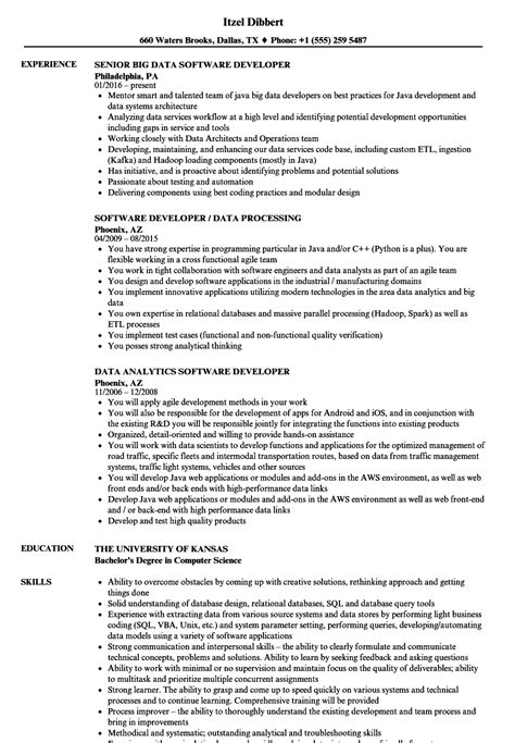 Cognos Controller Cover Letter by Software Developer Resume Exles Cognos Controller Cover Letter
