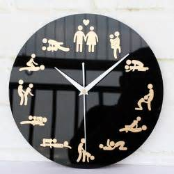 Wall Clock Design by Wall Clock Fun Boudoir Home Decor Creative Modern Design