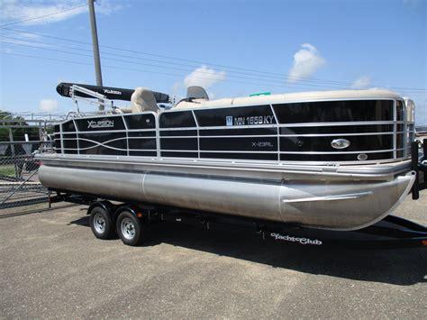 used pontoon xcursion boats for sale boats - Who Makes Xcursion Pontoon Boats